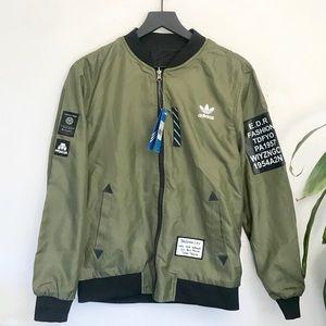 NWT | adidas Originals Reversible Bomber Jacket